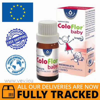 COLOFLOR BABY DROPS 5 ML - MADE IN POLAND - FREE SHIPPING