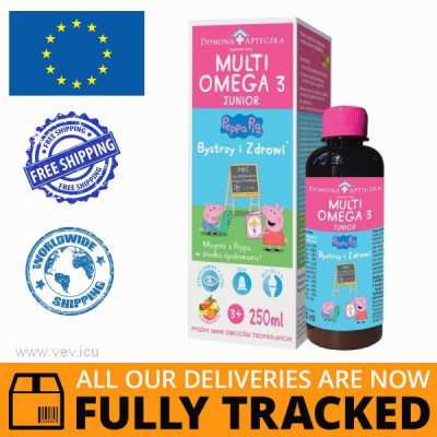MULTIOMEGA 3 JUNIOR - MADE IN POLAND - FREE SHIPPING