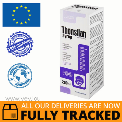 THONSILAN SYRUP 200ML - MADE IN POLAND - FREE SHIPPING