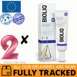 2 x BIOLIQ 55+, INTENSIVE LIFTING CREAM FOR THE SKIN OF THE EYES, LIPS, NECK AND DECOLLETE, 30 ML — MADE IN POLAND — FREE SHIPPING