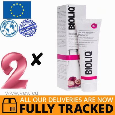 2 x BIOLIQ 35+ ANTI-AGING CREAM FOR DRY SKIN 50ML — MADE IN POLAND — FREE SHIPPING
