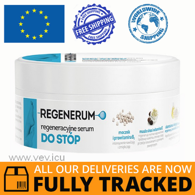 REGENERUM Foot Serum 125ml — Made in Poland by Aflofarm — Free Delivery