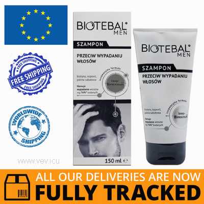 BIOTEBAL MEN ANTI-HAIR LOSS SHAMPOO 150ML - MADE IN POLAND - FREE SHIPPING