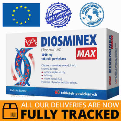 DIOSMINEX MAX 60 TABS — MADE IN CANADA — FREE SHIPPING
