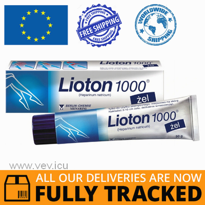 LIOTON 1000 GEL 50G — MADE IN GERMANY — FREE SHIPPING