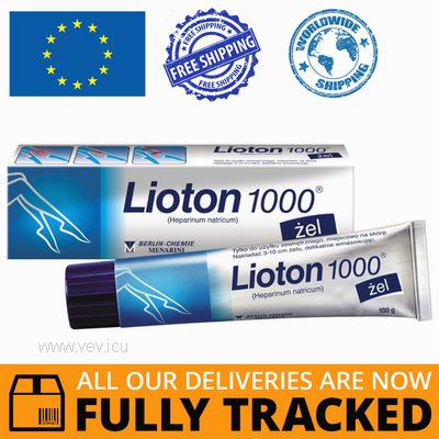 LIOTON 1000 GEL 100G — MADE IN GERMANY — FREE SHIPPING