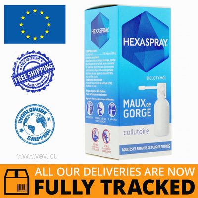 HEXASPRAY AEROSOL 750MG 30G — MADE IN ITALY — FREE SHIPPING