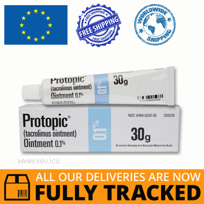 PROTOPIC OINTMENT 0.1% 10GR - MADE IN IRELAND - FREE SHIPPING