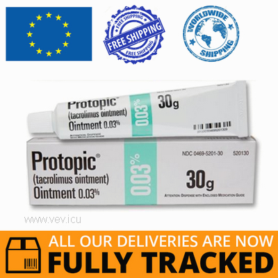 PROTOPIC OINTMENT 0.03% 10GR - MADE IN IRELAND - FREE SHIPPING