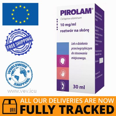 PIROLAM SKIN SOLUTION 1% 30 ML - MADE IN POLAND - FREE SHIPPING