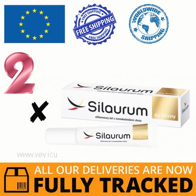 2 x SILAURUM GEL FOR SCARS 15ML — MADE IN POLAND — FREE SHIPPING