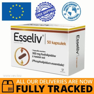 ESSELIV HARD CAPSULE 50 CAPS — MADE IN POLAND — FREE SHIPPING