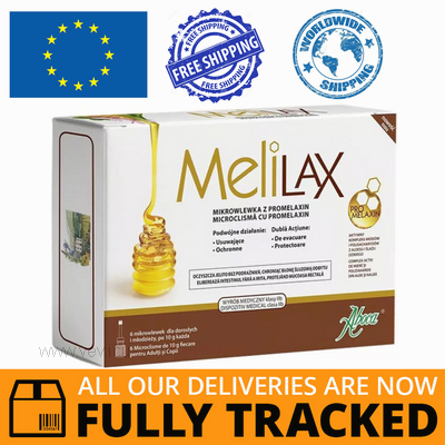 MELILAX FOR ADULTS 6 PCS - MADE IN ITALY - FREE SHIPPING