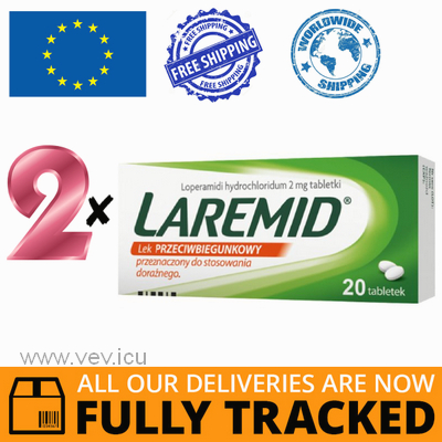 2 x LAREMID 2MG 20 TABS - MADE IN POLAND - FREE SHIPPING