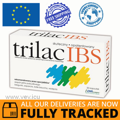 TRILAC IBS 20 CAPSULES - MADE IN POLAND - FREE SHIPPING