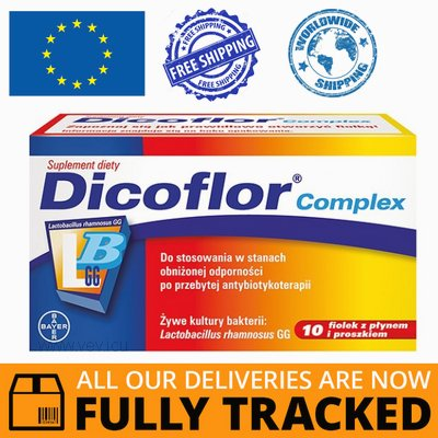 DICOFLOR COMPLEX 10 VIALS  - MADE IN GERMANY - FREE SHIPPING
