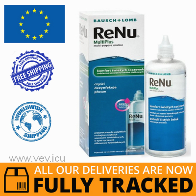 RENU MULTIPLUS, LENS SOLUTION, 120 ML - MADE IN USA - FREE SHIPPING