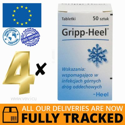 4 x GRIPP-HEEL 50 TABS — MADE IN GERMANY — FREE SHIPPING