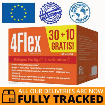 4FLEX 40 SACHETS - MADE IN CANADA - FREE SHIPPING