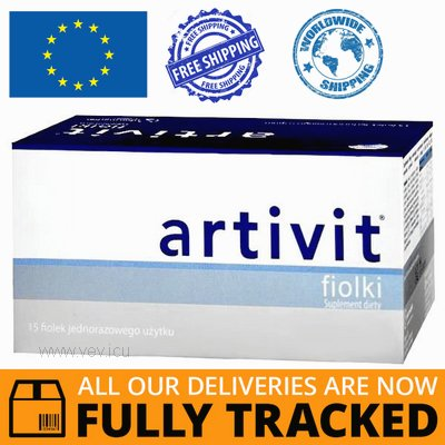 ARTIVIT 15 DISPOSABLE VIALS - MADE IN SWITZERLAND - FREE SHIPPING