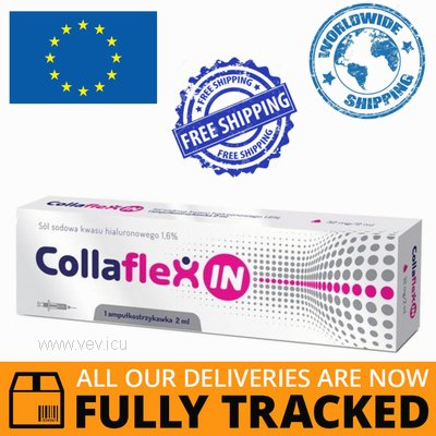 COLLAFLEXIN 1 PRE-FILLED SYRINGE 2ML — MADE IN POLAND — FREE SHIPPING