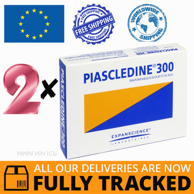 2 x PIASCLEDINE 300 30 CAPS - MADE IN FRANCE - FREE SHIPPING