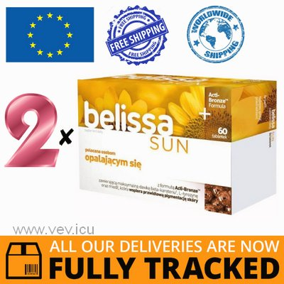 2 x BELISSA SUN 30 TABS - MADE IN POLAND - FREE SHIPPING