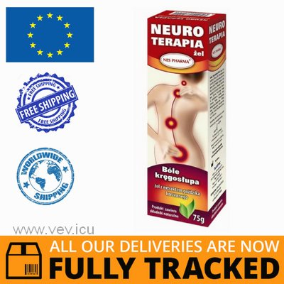 NEURO THERAPY GEL FOR BACKACHE, CARNATION 75G - MADE IN POLAND - FREE SHIPPING