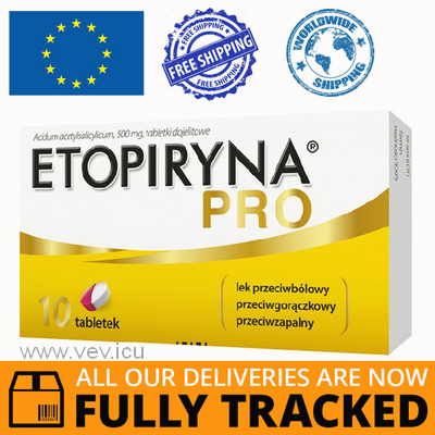ETOPIRYNA PRO 10 TABLETS - MADE IN POLAND - FREE SHIPPING