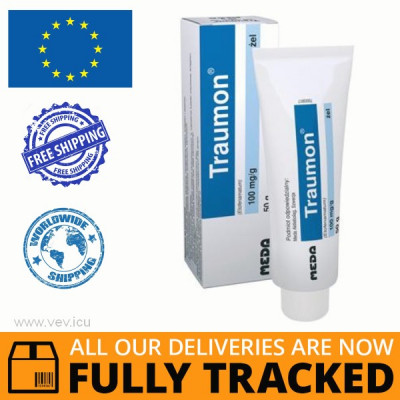 TRAUMON 100 MG / G, GEL, 50 G — MADE IN SWITZERLAND — FREE SHIPPING