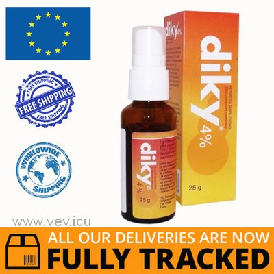 DIKY 4% LIQUID 30ML — MADE IN CANADA — FREE SHIPPING