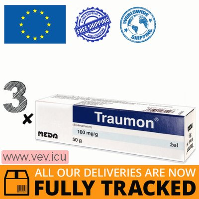 Traumon gel 3p x 100g  — Made in Switzerland — Free Delivery