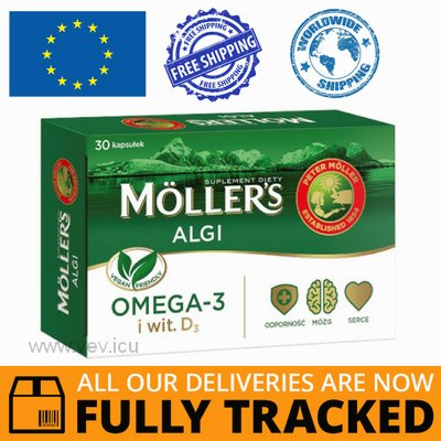 MOLLER'S ALGI 30 CAPS - MADE IN NORWEGIA - FREE SHIPPING