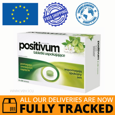 POSITIVUM 180 TABS — MADE IN POLAND — FREE SHIPPING