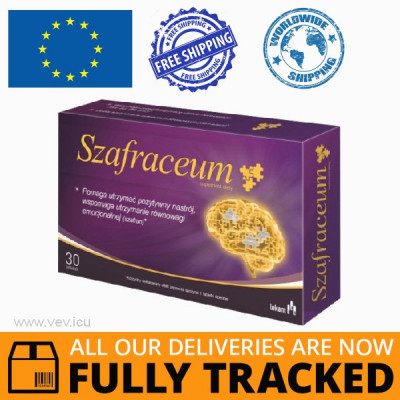 SZAFRACEUM 30 TABS - MADE IN POLAND - FREE SHIPPING