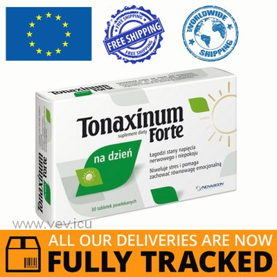 TONAXIN FORTE DAY 30 TABLETS - MADE IN POLAND - FREE SHIPPING