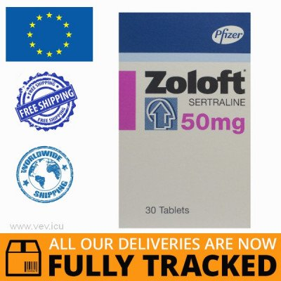 ZOLOFT 50MG 28 PILLS — MADE IN POLAND — FREE SHIPPING