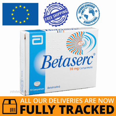 BETASERC 16MG 30 TABS - MADE IN FRANCE - FREE SHIPPING