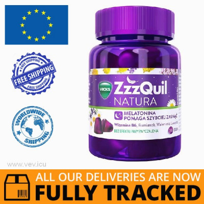 ZZZQUIL NATURA, JELLY BEANS, 30 PCS - MADE IN POLAND - FREE SHIPPING