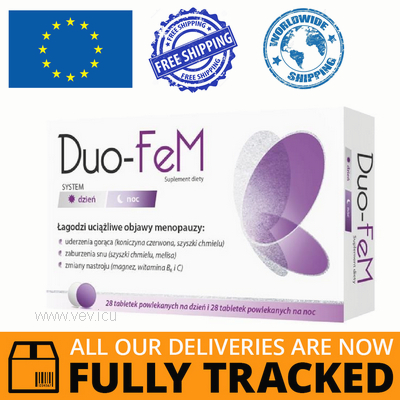 DUO-FEM DAY AND NIGHT 2 X 28 TABS - MADE IN POLAND - FREE SHIPPING