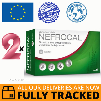 2 x NEFROCAL 60 TABS - MADE IN POLAND - FREE SHIPPING