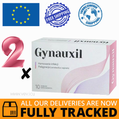 2 x GYNAUXIL 10 GLOBULES — MADE IN POLAND — FREE SHIPPING