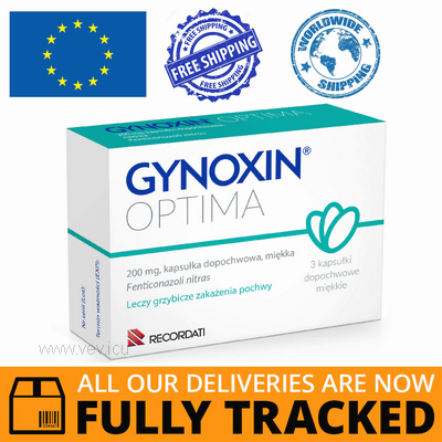 GYNOXIN OPTIMA 200MG 3 CAPS - MADE IN ITALY - FREE SHIPPING
