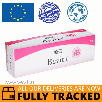 BEVITA CREAM 75G — MADE IN FINLAND — FREE SHIPPING