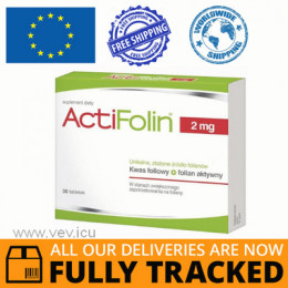 ACTIFOLIN 2MG 30 TABS - MADE IN POLAND - FREE SHIPPING